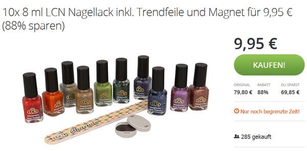LCN Nagellack Magnet Angebot