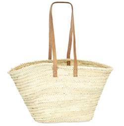 Strandtasche Palmblatt Modell 2