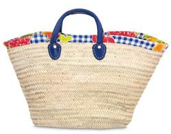 Strandtasche Palmblatt Modell 3