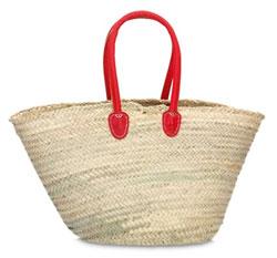 Strandtasche Palmblatt Modell 4