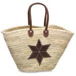 Strandtasche Palmblatt Modell 5