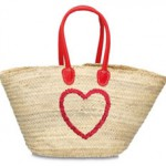 Strandtasche Palmblatt Modell 6