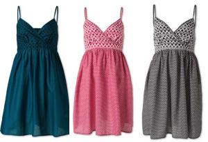 Süßes Trägerkleid in 3 Farben nur 4,50 Euro