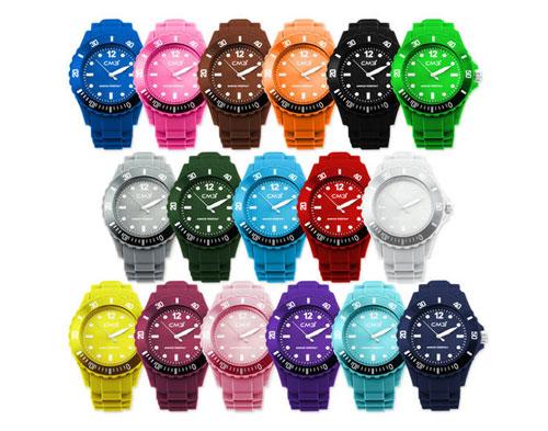 Uhren Silikon Farben Schnäppchen