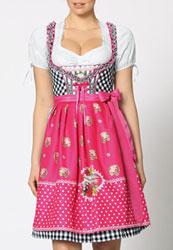 Dirndl Oktoberfest Tracht Damen Modell 1