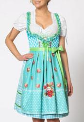Dirndl Oktoberfest Tracht Damen Modell 2