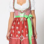 Dirndl Oktoberfest Tracht Damen Modell 3