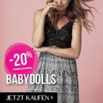 Hunkemöller Fashion Fever Rabatte Aktion Babydolls