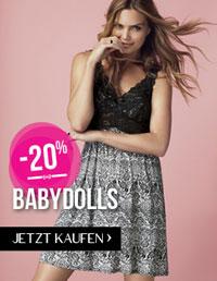 Hunkemöller Fashion Fever Rabatte Aktion Babydolls