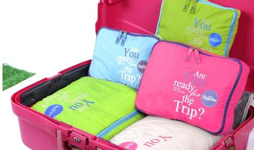 Koffer Organizer Ordnung packen